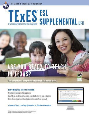 Texas Texes Esl Supplemental W/Online Praice By Editors of Rea